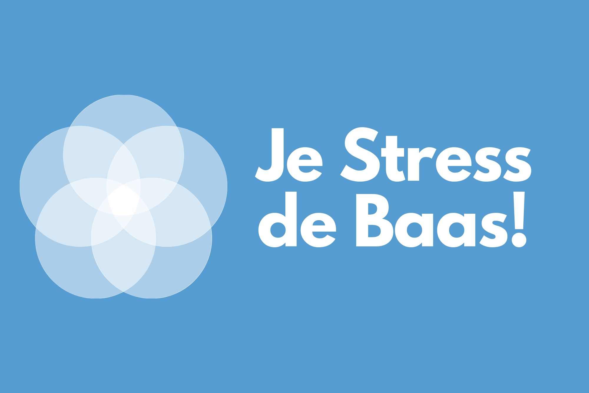 je stress de baas logo