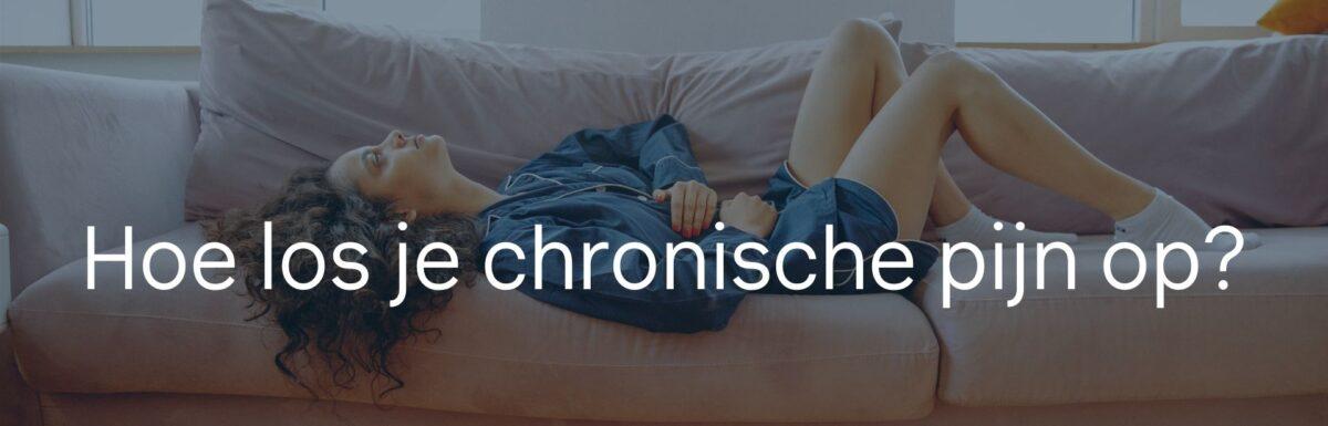 Chronische pijn begrijpen
